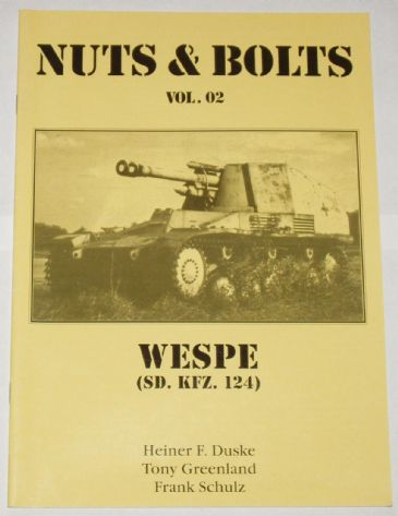 Nuts & Bolts Volume 2 - Wespe (SD KFZ 124)